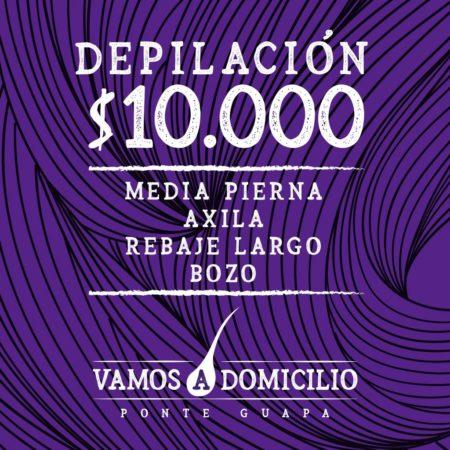 Depilación $10.000